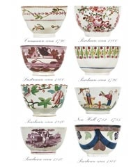 English tea bowls 1760-1830